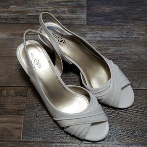 East 5th slingback heels size 7½